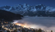 Night inversion, Verbier, CH